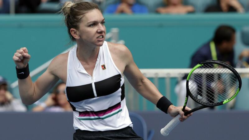 Locul pe care a urcat Simona Halep în clasamentul WTA
