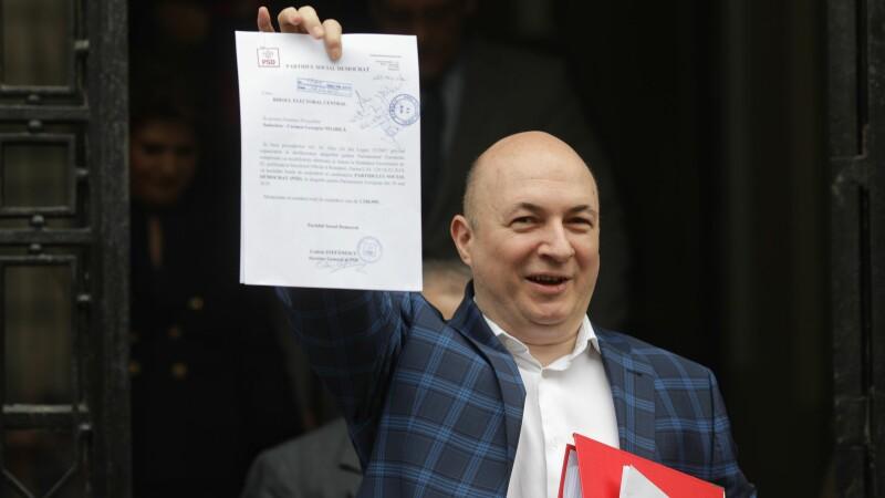 """PSD a depus listele pentru europarlamentare: """"Vom fi prezenţi printre oameni non-stop"""""""