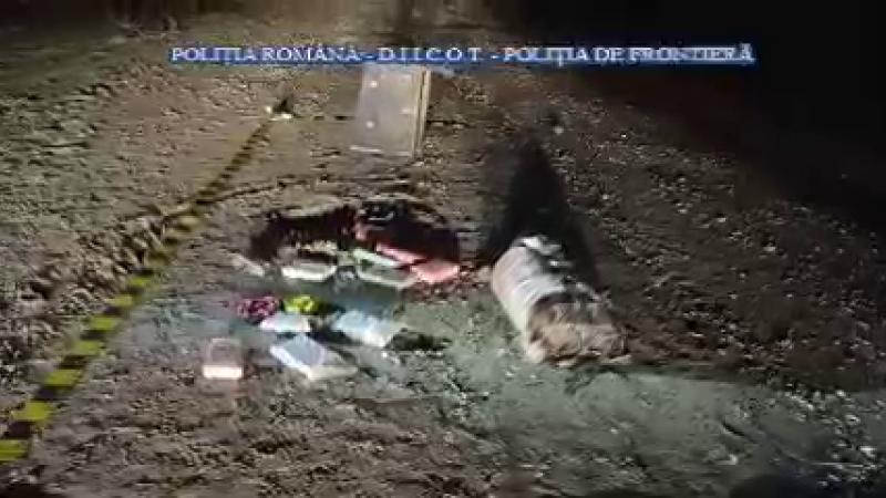 Ancheta privind tona de droguri a început de la un pachet cu cocaină căzut pe stradă