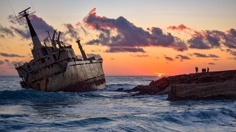 Cipru, epava, plaja