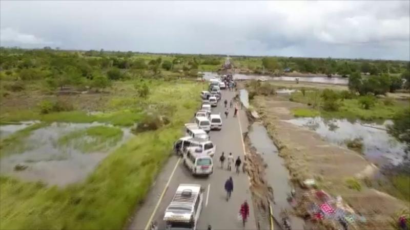 Mozambic dupa ciclonul Idai
