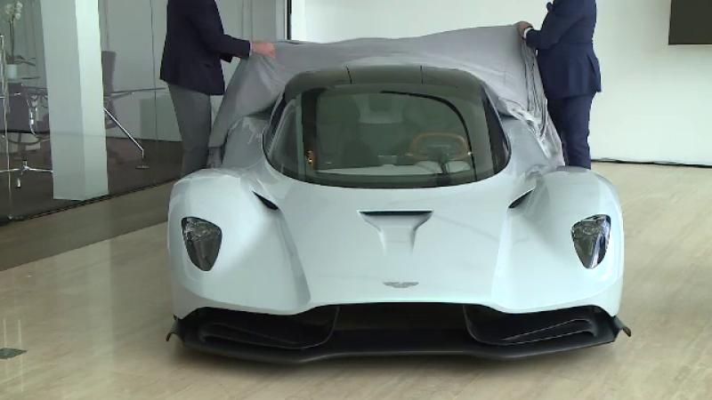 Aston Martin și-a deschis reprezentanță la Bucureşti