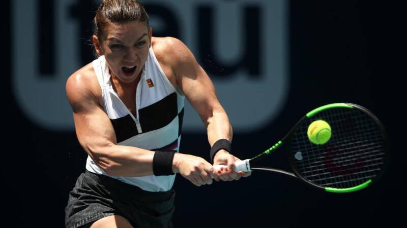 Prima reacție a Simonei Halep după victoria spectaculoasă din sferturile Miami Open