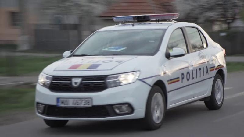 Focuri de armă în București. Polițiști, amenințați cu un cuțit de un bărbat agresiv