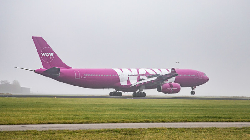 wow air, faliment, companie,