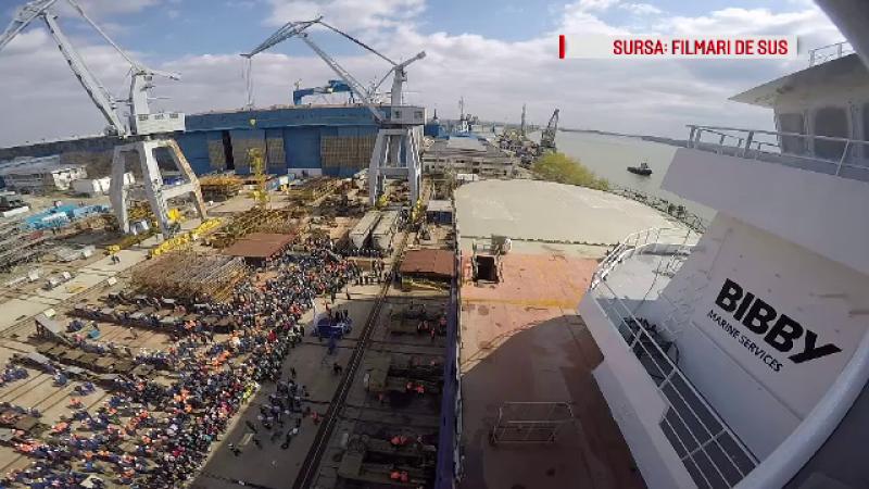 """Cum arată vasul comandat de un miliardar norvegian și construit la Tulcea: """"E o navă specială"""""""