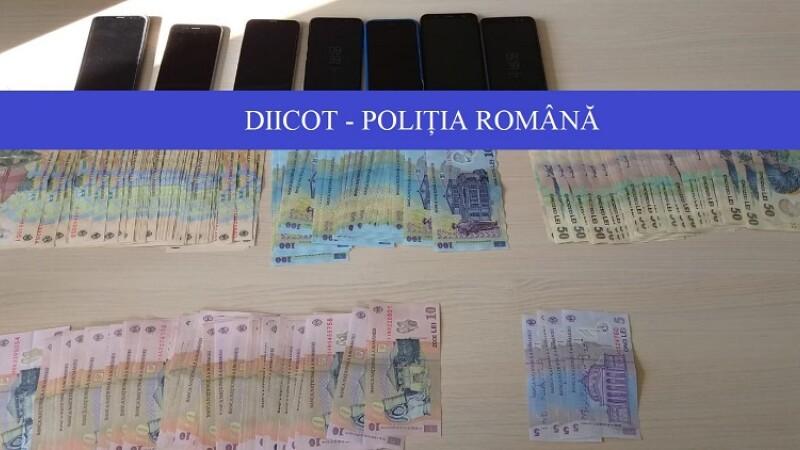 Grupare specializata in trafic de droguri, destructurata de DIICOT