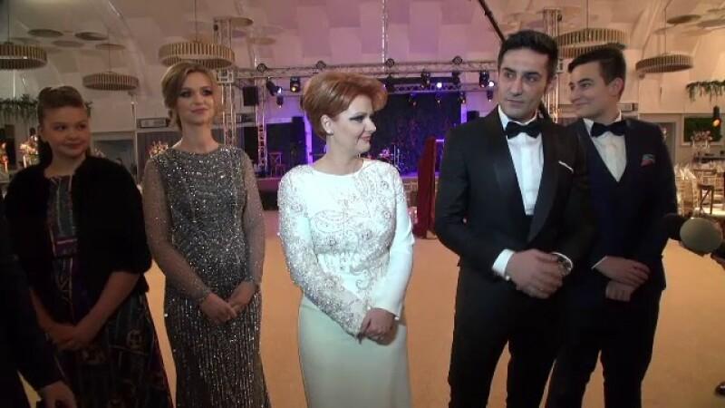 Imagini de la nunta Olguței Vasilescu. Ipostaza în care a fost pozat Dragnea cu iubita