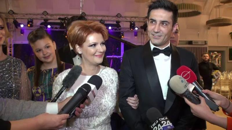 Moment inedit la nunta Liei Olguța Vasilescu. Ce a făcut împreună cu invitații