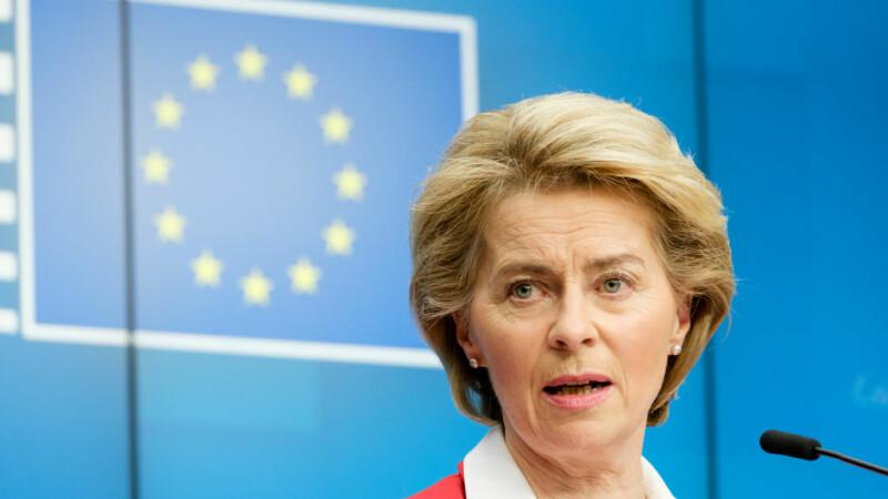"""Liderul Comisiei Europene,Ursula von der Leyen, sprijină emiterea de """"obligaţiuni corona"""" pentru combaterea crizei"""