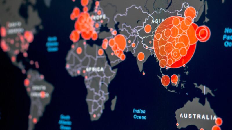 Peste 13.400 de decese cauzate de pandemia de COVID-19. Bilanțul celor mai afectate țări