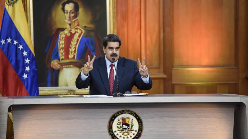 """Preşedintele venezuelean Nicolas Maduro, inculpat pentru """"narco-terorism"""" în SUA"""