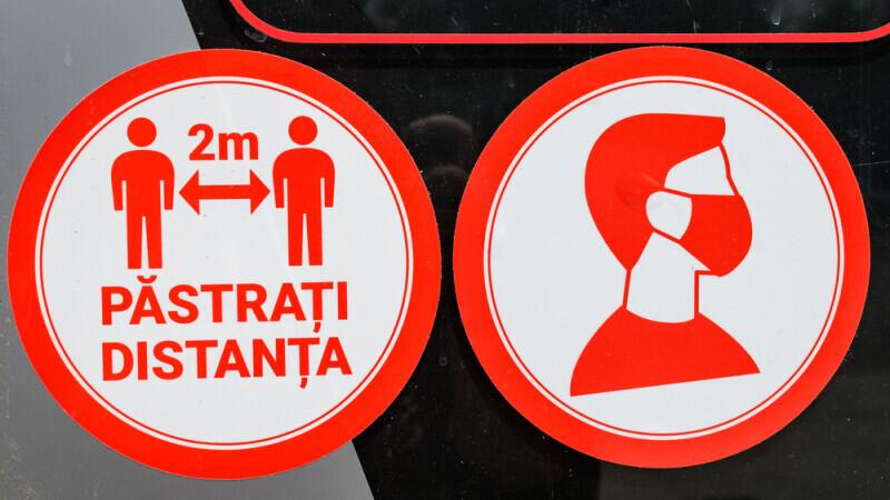 Restricțiile vor fi relaxate în Capitală începând de marți. Circulația permisă până la ora 22:00 şi în weekend
