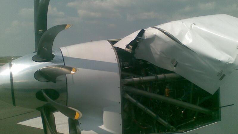 Avion la Timisoara