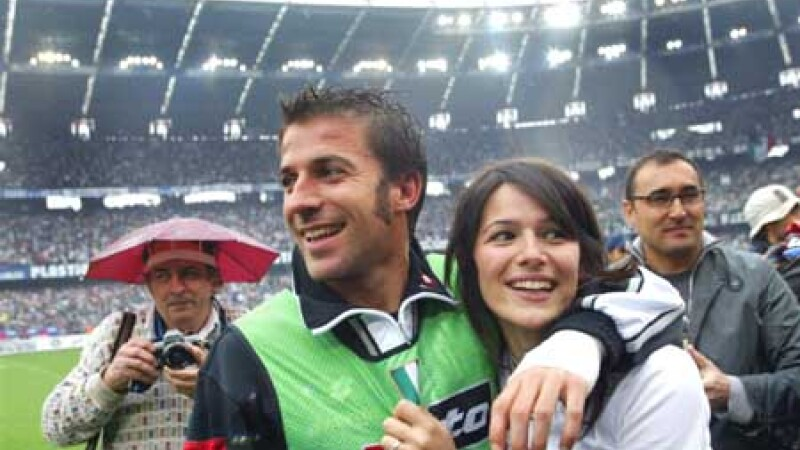 Del Piero si sotia