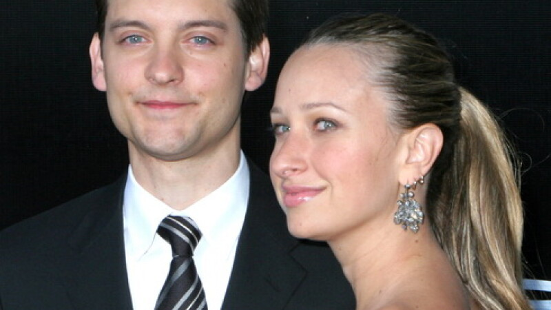 Tobey Maguire si sotia