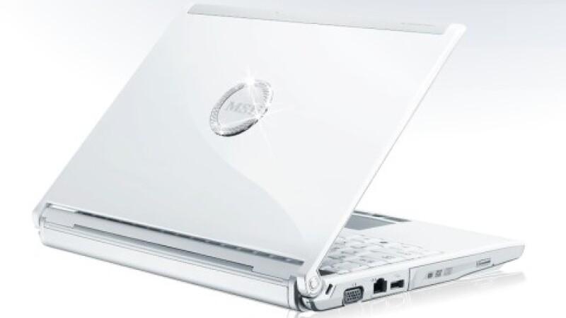Laptop cu cristale
