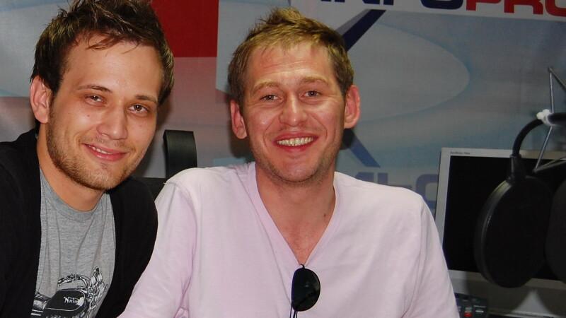 Mircea Solcanu si Marius Onuc