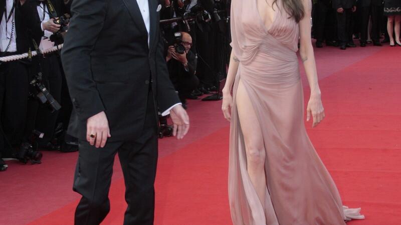 Angelina si Brad la Cannes