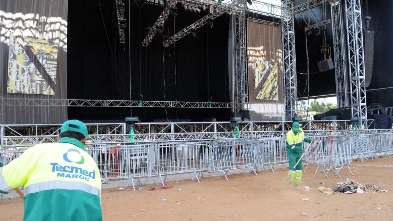 Concert incheiat sangeros in Rabat, capitala Marocului