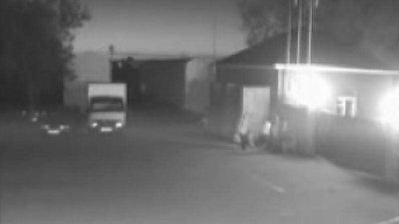 OZN filmat de camarele de supraveghere in Rusia