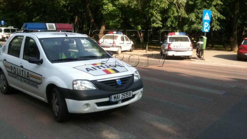 masina politie zebra