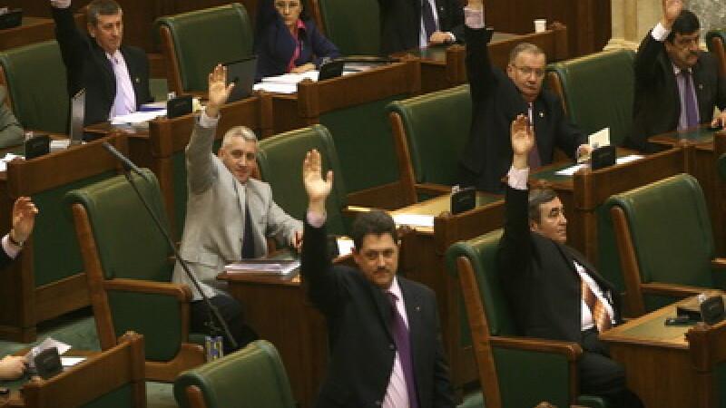 Parlamentari romani