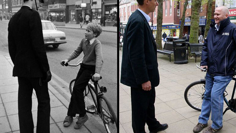 FOTOGRAFII INEDITE! Pozati in aceleasi ipostaze, dupa 30 de ani!