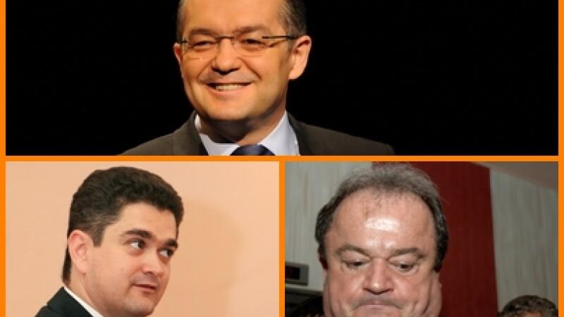 Emil Boc, Vasile Blaga si Theodor Paleologu