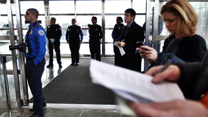control aeroport