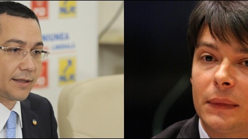 Victor Ponta si Victor Alistar - COVER