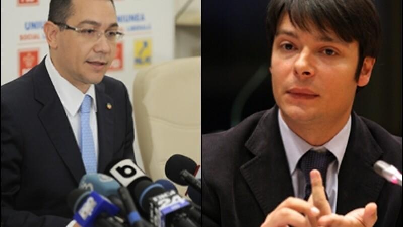 Victor Ponta: Cercetam documentele despre Alistar; daca sunt elemente neclare, fac alta nominalizare