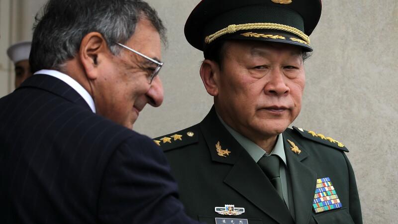 Liang Guanglie si Leon Panneta