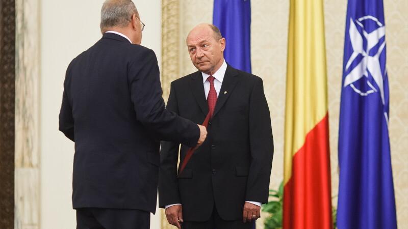 Andrei Marga si Traian Basescu