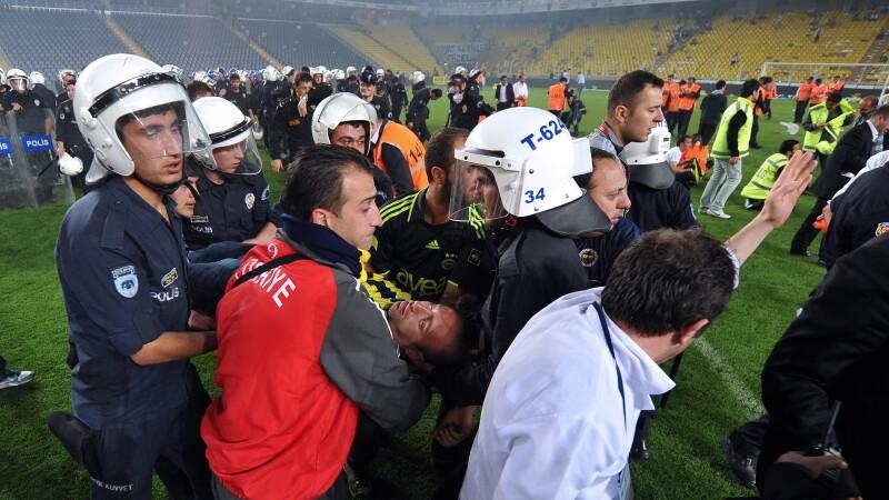 Violente dupa meciul Fenerbahce-Galatasaray