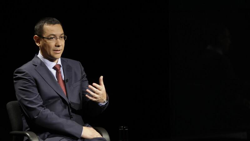 Ponta: Guvernul reduce CAS cu 5 puncte la angajator si mentine cota de impozitare de 16% la firme