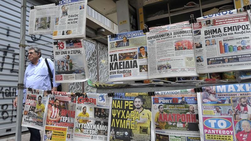 Grecia ziare