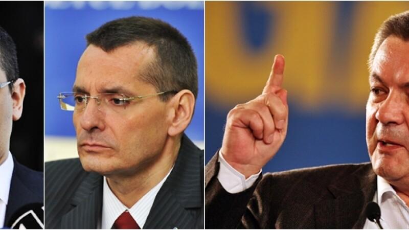 Victor Ponta, Ioan Rus, Petre Toba