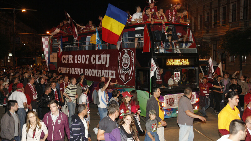 CFR Cluj campioana