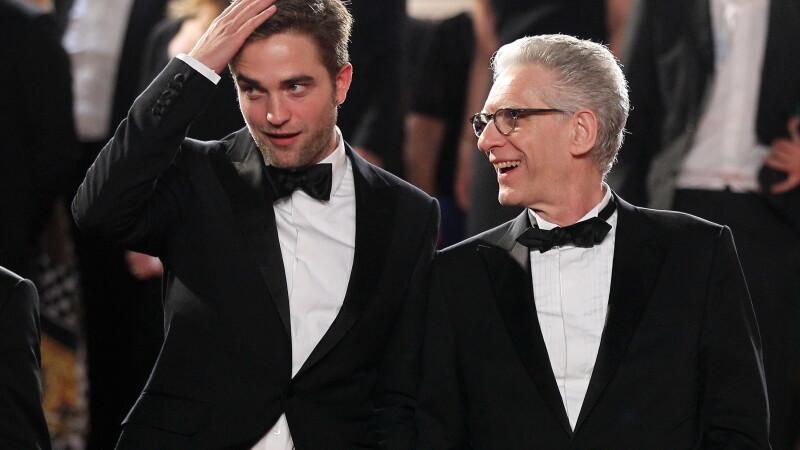 Robert Pattinson si David Cronenberg