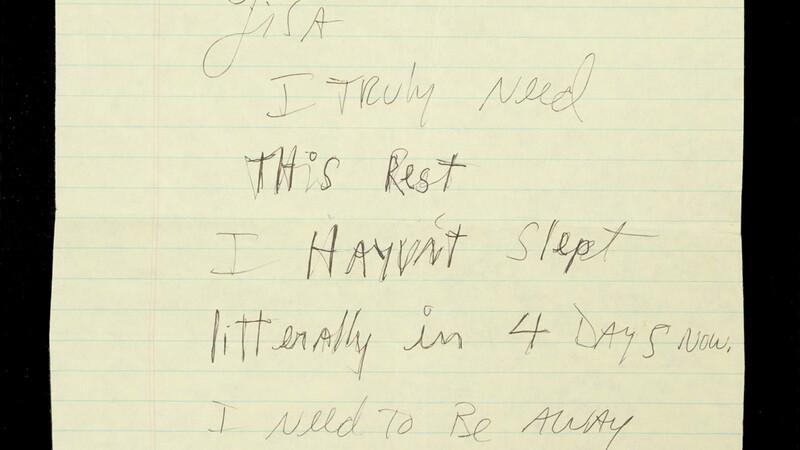 scrisoare Michael Jackson