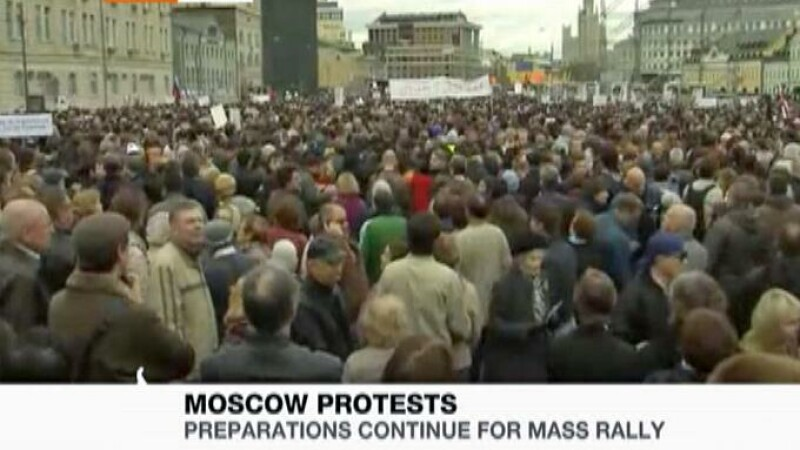 protest Moscova
