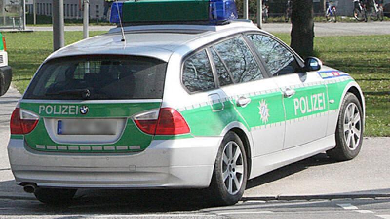 masina de politie Germania