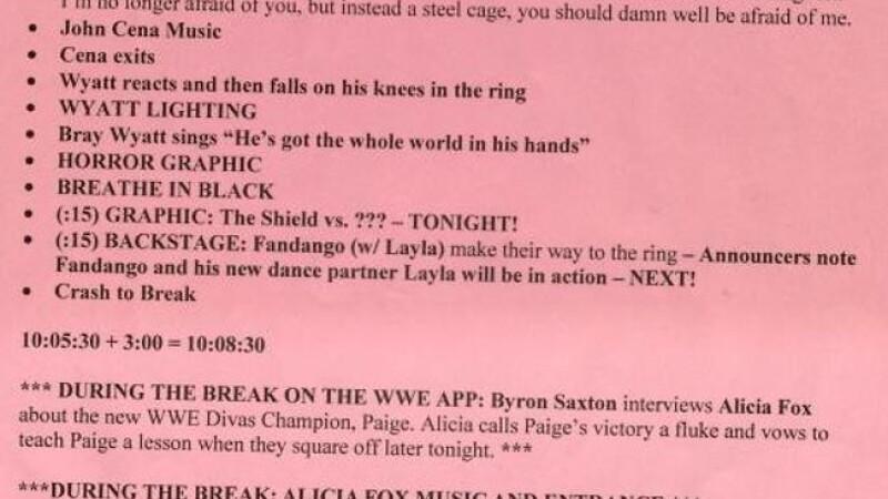 Script wrestling