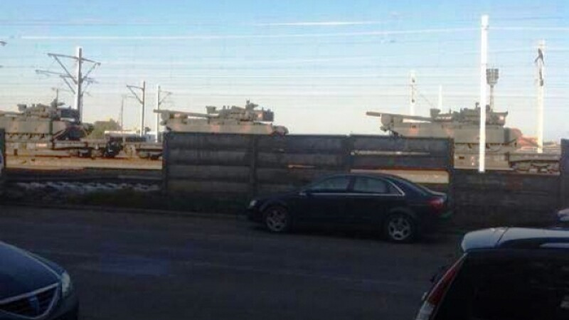 tancuri in Arad