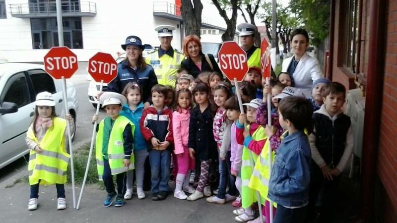 politisti junior, educatie rutiera