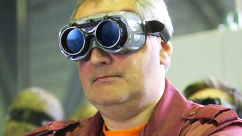 Rogozin cu ochelariu ciudati
