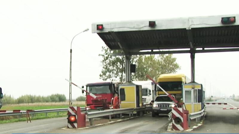 camioane la bariera