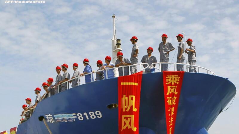 Atmosfera de razboi din cauza unei platforme petroliere. China este pregatita sa intervina militar impotriva Vietnamului