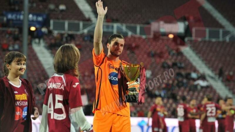 Mario Felgueiras, desemnat de fani cel mai bun jucator al CFR-ului in acest sezon. Mesajul de adio al suporterilor